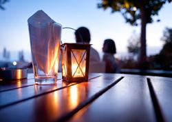 Trinity Insurance Agency - Backyard sunset