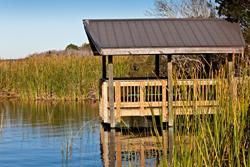 Oldsmar Insurance Agency - deck over water