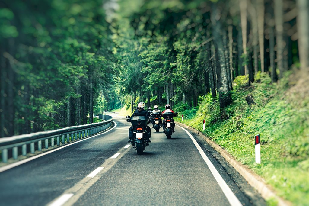 motorcycle insurance - a group of riders